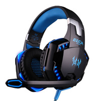 Kotion EACH G2000 Best PC Gamer Casque Audio Gaming Headset Glow Earphone Headphone For PS4 With