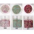 Cor escura 10 ml estereoscópico Caviar Beads Manicure 3D Steel Ball Glitter Nail Art decoração