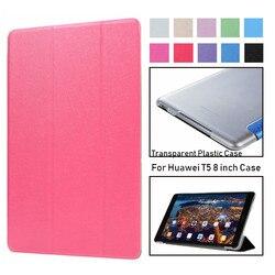 Étui en cuir pour Huawei MediaPad T5 8.0 JDN2-W09/AL00 8 pouces étui pour tablette pour Huawei Honor Pad 5 8.0 Fundas