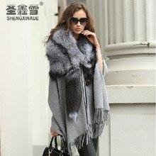 Manufacturers selling! Fox fur collar whole fox fur shawl fashion scarves Free shipping