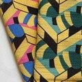 1 yard Neue Gedruckt Polyester Crinkle Chiffon Stoff für Strand Kleid Schals Vorhang Schal Kleidung DIY Handwerk Tissue Tela Tecidos