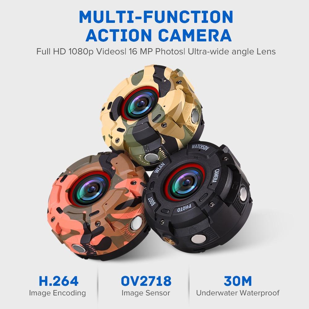 Dashcam WIFI Mini Kamera Für Sport Action DVR Dash Kamera Full HD 30M Wasserdichte Uhr Camara DV Camcorder Wearable auto Kamera - 2