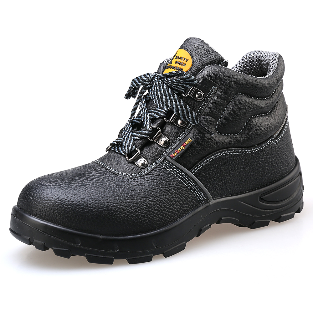 Lightweight And Breathable High Upper Black Safety Working Shoes Puncture Labor Insurance Protection Shoes 2019 Acecare-FLightweight And Breathable High Upper Black Safety Working Shoes Puncture Labor Insurance Protection Shoes 2019 Acecare-F