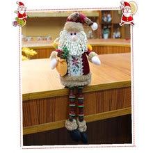Creative doll Saco de natal Christmas Seat Ornament Christmas Doll Elderly Snowman Deer New Christmas Gift Christmas Ornament