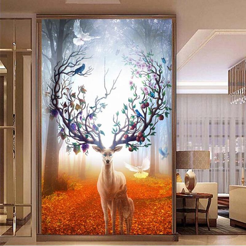 골든 판노, 바느질 작업, 자수, DIY 동물 그림, 크로스 스티치, 키트, 11ct Golden deer home 크로스 스티치, 자수 세트