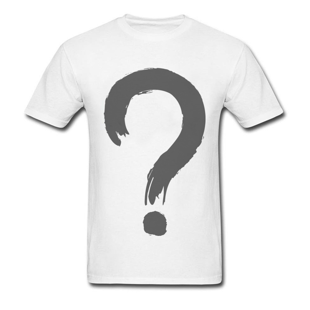 Question Mark Symbol T Shirt Student 2018 Cool Graphic T Shirts For