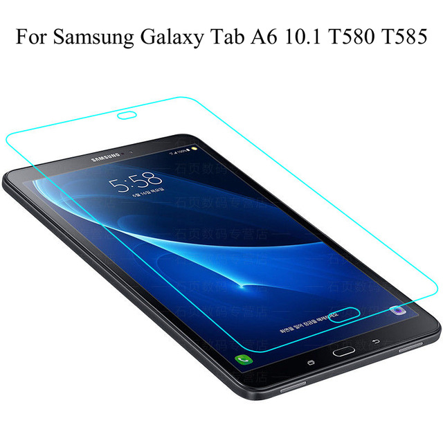 For Samsung Galaxy Tab A6 10.1 T580 T585 Steel Film Tablet Screen Protection Toughened Tempered Glass Membrane