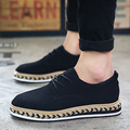 2016 Высокое Качество Мужчины Повседневная Плоским Hand Made Плетеные Обувь Мода Британский Стиль Мужчин Обувь Открытый Прогулки Обувь для Вождения