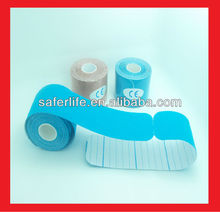 NEW sports 6pcs a lot Elbow Knee back guard pre cut roll special discount Kinesiology tape elastic 5cm x 5m