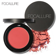 FOCALLURE blush Beauty Makeup 11 Colors Professional Cheek Blushes Powder Soft Nature Rouge Glossy Face Blush