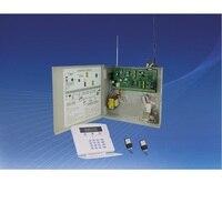 Darmowa Wysyłka 16 Strefy Przewodowe i 16 stref Bezprzewodowy GSM Alarm Panel Sterowania home security Alarm host przewodowych i bezprzewodowych