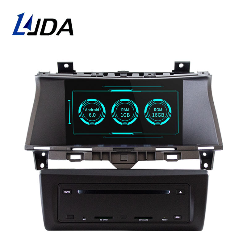 LJDA 2 DIN Android 6.0 Car DVD Player For Honda Accord 2008-2013 2014 2015 Radio Audio WIFI Canbus GPS Navigation Car Multimedia