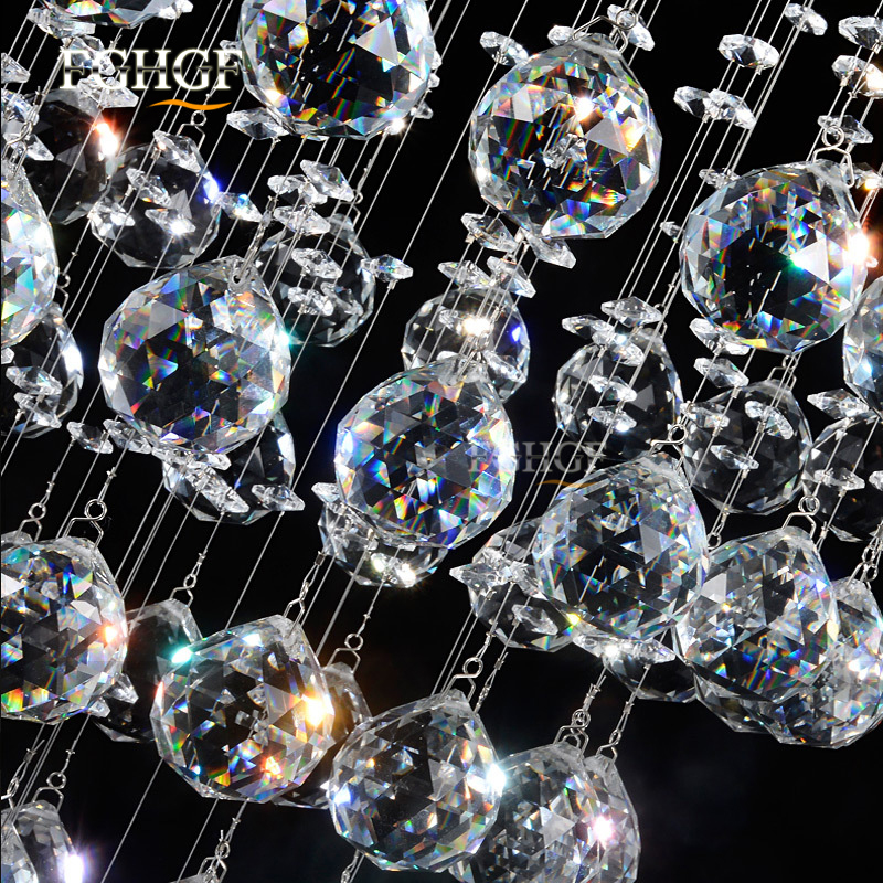 Modern Long Spiral Living Crystal Chandeliers Lighting Lustres Fixture for Staircase Stair Lamp Showcase Bedroom Hotel Hall (3)