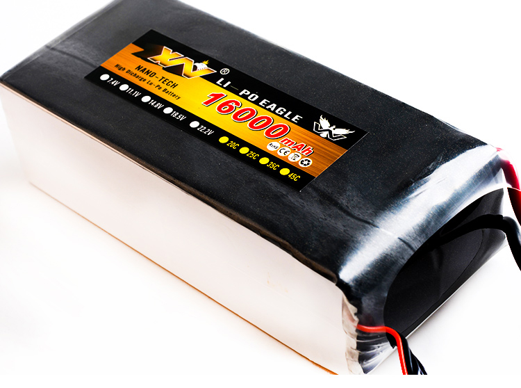 DXF Lipo font b Drone b font FPV Battery 16000mah 22 2V 25C Max 50C Toys