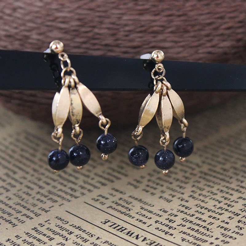 SANSUMMER Black Pearl Imitation Pearl Alloy Metal Irregular Shape 2019 New Style Fashionable Temperament Women 39 s Earring 581 in Drop Earrings from Jewelry amp Accessories