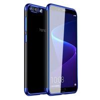 Luxus Überzug Fall Für Huawei Ehre 8X 8X Max 8C Hinweis 10 V9 Spielen 6C 8 Pro 9 10 8 lite V9 9i 7X Ultra Dünne Galvanik Fall