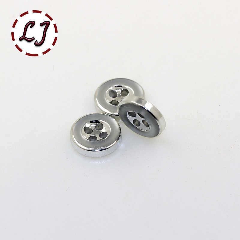 Бесплатная доставка 30 шт./лот пуговки с покрытием с 4 отверстиями круглую кнопку, декоративные пуговицы из смолы, пластиковая ткань кнопки швейные принадлежности для скрапбукинга