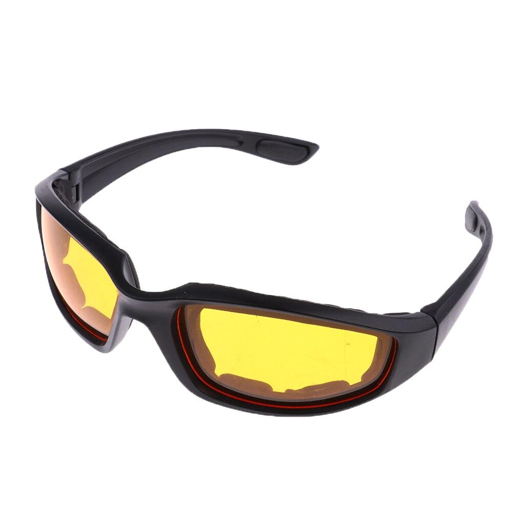 1 Pcs Motorcycle Glasses Polarized Sunglasses Cycling Eyewear Outdoor Sports Bike Goggles Windproof UV400 Lenses