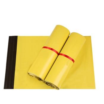 DHL Hurtownie Żółty Poli Mailer Koperty Torby Do Pakowania Torby Plastikowe Wysyłka Kurier Ekspresowy Mailling Samoprzylepne