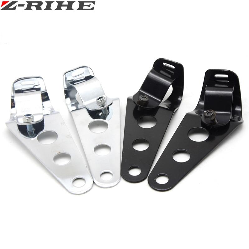 Universal de la motocicleta accesorios 35mm-43mm de la linterna soporte de monta