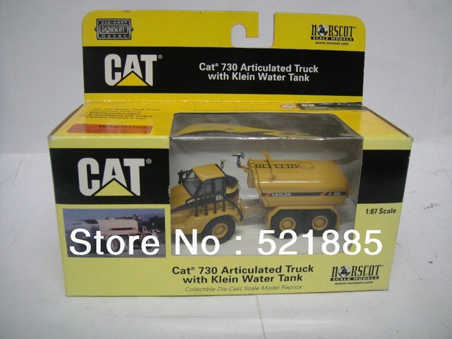 Norscot 1:87 Cat 730 Articulated Truck with Klein Water Tank die cast scale model toy