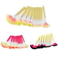 MSQ 10Pcs Professional Makeup Brushes Set Powder Foundation Eyeshadow Make Up Brushes Cosmetics Synthetic Hair