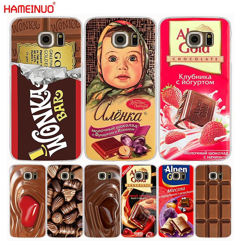 Galleria fotografica HAMEINUO alenka bar wonka chocolate cell phone case cover for <font><b>Samsung</b></font> <font><b>Galaxy</b></font> s9 S7 edge PLUS S8 S6 S5 S4 S3 MINI