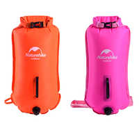 High Visibility Inflatable Swimming Dry Bag Safety Swim Buoy Pull Float Waterproof Sports Bags for Surfing Fishing Water sports
