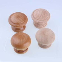 wooden childroom furniture door safety knobs wood drawer shoe cabinet bedside table knobs pulls handles