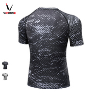 Vivroad 2017 New Arrival Summer Mens Trainning T Shirts Man S Tops Quick Dry Brand Wholesale