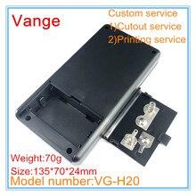 1 шт./лот экструдированная коробка для литья под давлением 135*70*24 мм ABS пластиковый корпус чехол корпус батареи для устройства дистанционного управления