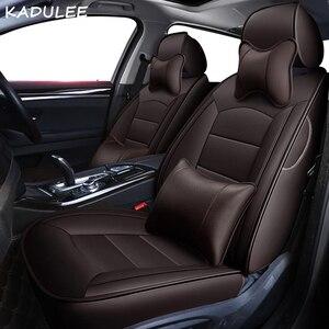 Image 5 - Чехол KADULEE на автомобильное сиденье из натуральной кожи под заказ для mercedes benz gl c180 c200 e300 w211 w203 w204 ML Автомобильная подушка автокресла Стайлинг
