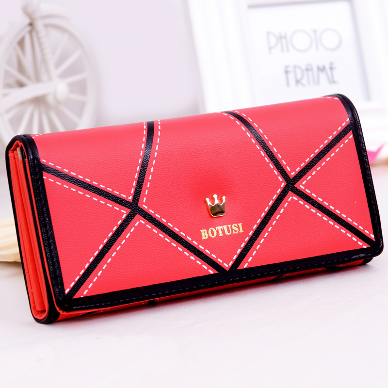 TONUOX Women Wallets Good Quality PU Leather Hasp Long Lady Handbags Coin Purse Moneybags Clutch Wallet Cards Holder Bags Burse