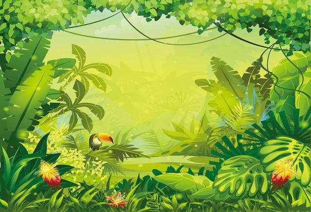 jungle safari backdrop photography backdrops happy birthday backdrop