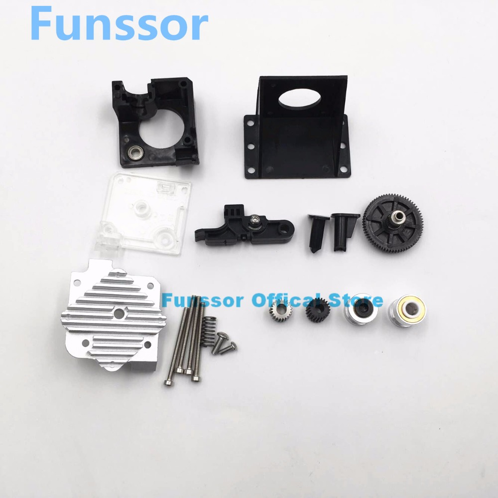 Funssor updated Reprap 3D printer 1.75mm /3mm TITAN extruder for 3D printer reprap MK8 J-head bowden 5pcs 3 d printer accessory wade s extruder hobbed bolt reprap m8 wire feed teeth space 1mm for 3mm 1 75mm abs pla