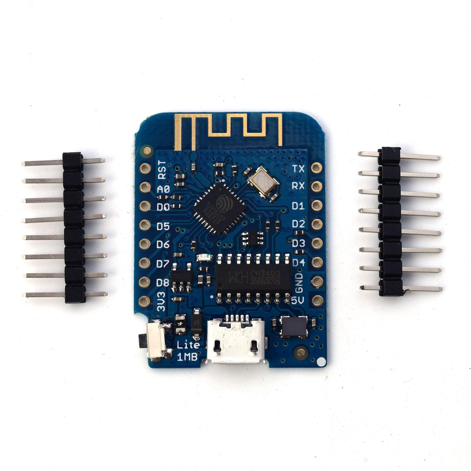 WiFi Internet of Things Development Board Based ESP8285 1MB Flash for WEMOS D1 Mini Lite V1.0.0