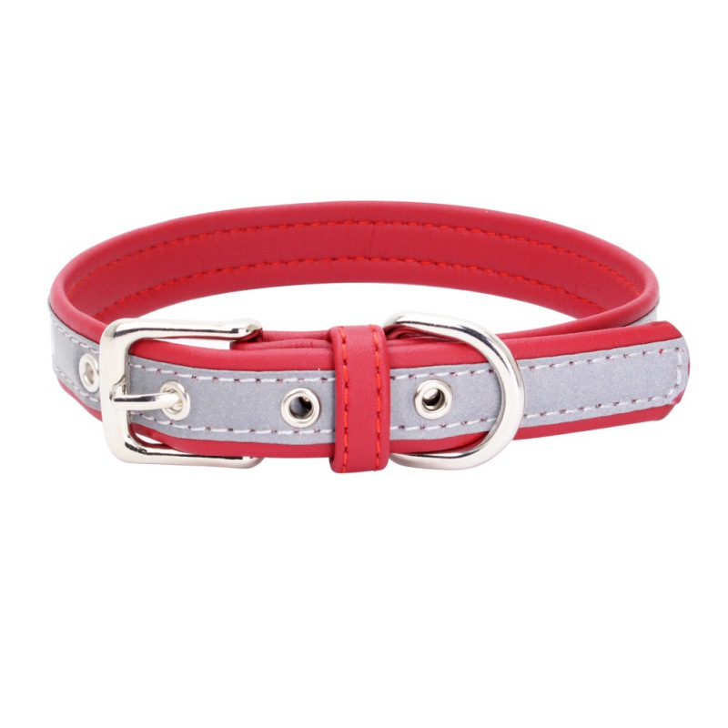 Soft Fiber Reflective Fashion Collar Walking The Dog Outdoors Security Can Be Reflective Of The Special Size XS S M L