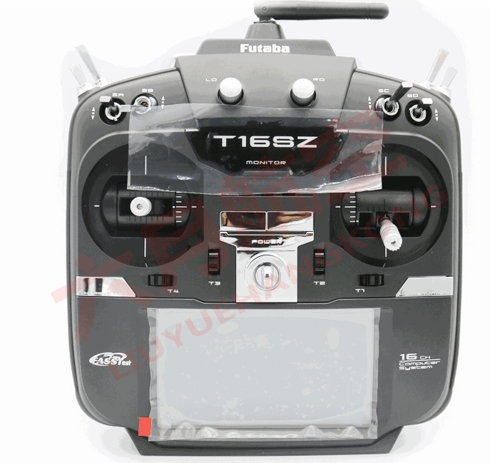 Original Futaba 16SZ 2.4GHz FASST Transmitter Remote Control (Ni-MH) With R7008SB Receiver 2.4G For Helicopter Multirotor