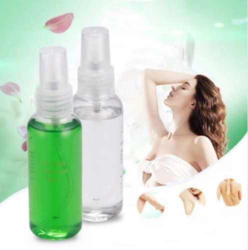 2PCS Smooth Body Hair Auxiliary Removal Inhibit Hair Growth Smooth