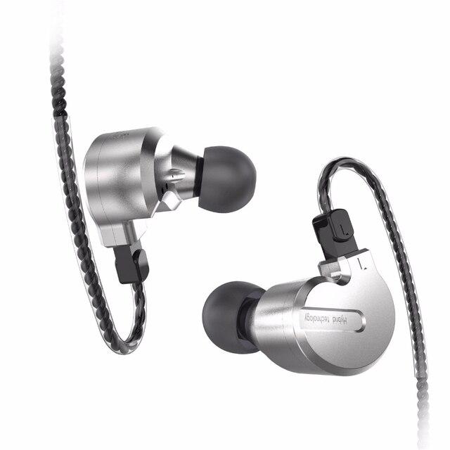 AK BQEYZ KB1 1BA+2DD Hybrid Dynamic In Ear HIFI Earphones Monitor Earbud Bass Running Sport Earphone Earplug Headset Earbud