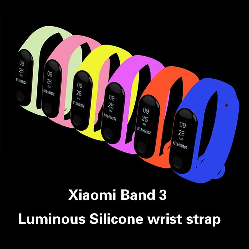 xiaomi-mi-band-3-smart-wristband-luminous-silicone-wrist-strap-for-xiaomi-mi-band-3-bracelet-strap-miband-3-colorful-strap
