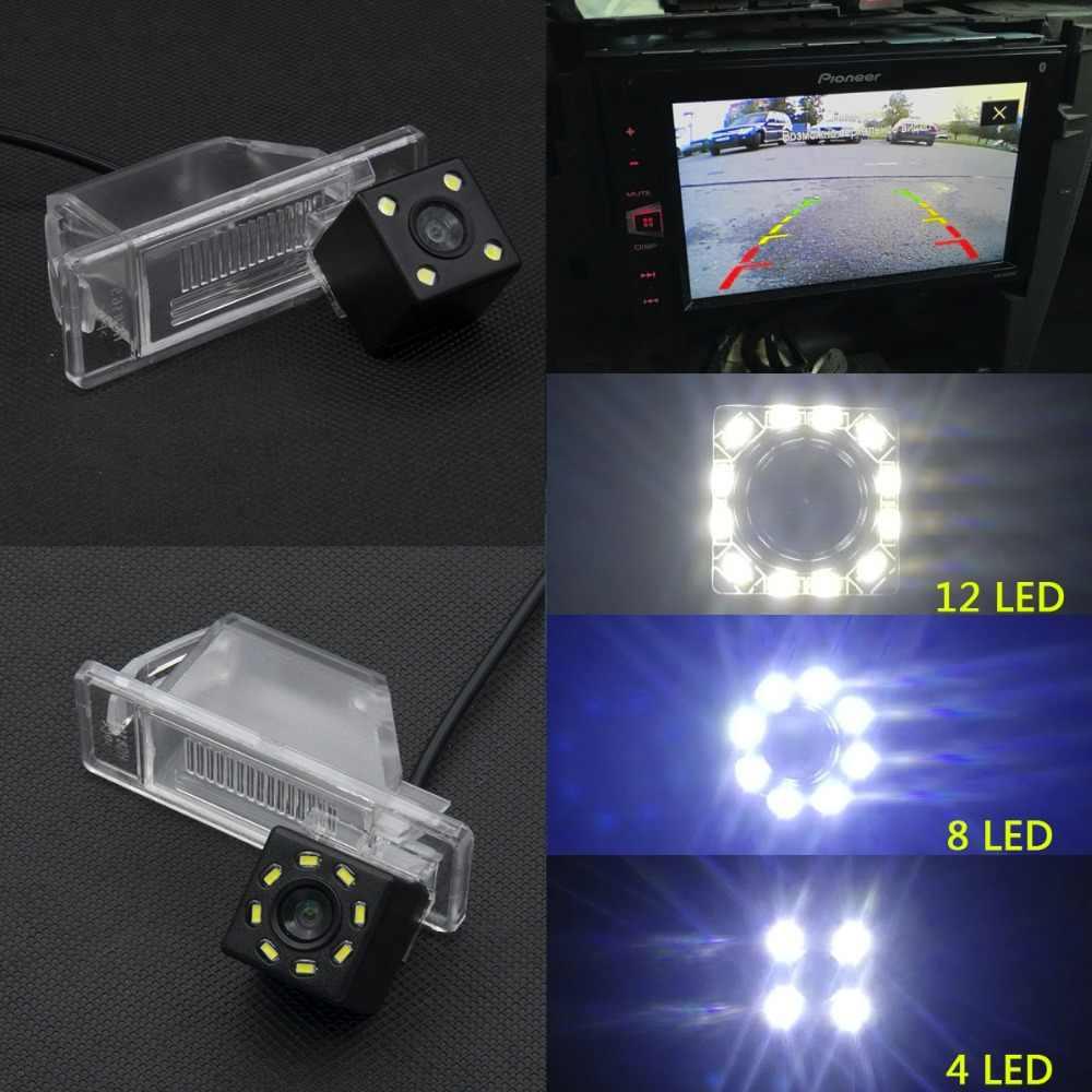 Pour Nissan X Trail x-trail Qashqai Juke ensoleillé Versa NV200 mars voiture CCD LED sauvegarde caméra de recul vue arrière moniteur de stationnement de voiture