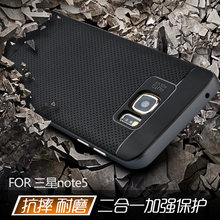 Nowy wysokiej jakości etui marki ipaky do Samsung galaxy note 5 silikonowa osłona ochronna w magazynie note5, bezpłatna wysyłka