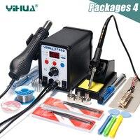 Free Shipping YIHUA 8786D Laptop Repair Weldering Tools Hot Air Rework Station