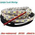 5050 LED Luz de Tira DC12V SMD luz flexível 60LED/m, 5 m 300LED, NÃO À Prova D' Água, NSL5050