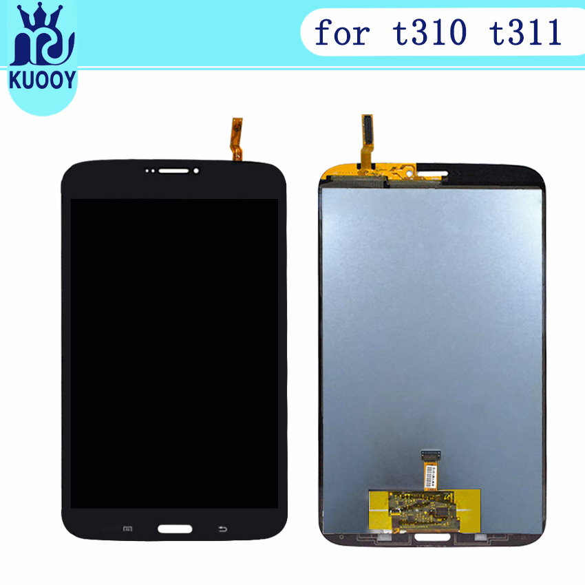 Test 100% For Samsung Galaxy Tab3 8.0 T310 T311 SM-T310 SM-T311 LCD Display and Touch Screen Digitizer Assembly with tools original 8 lcd sx080gt14 hrx k800wl2 s080b02v16 hf yp1338 20 sm t310 sm t311 sm t315 t311 t310 tablet pc display matrix screen