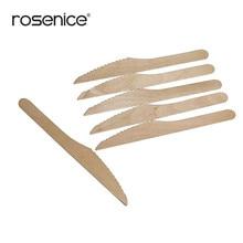 100 шт. идеальный деревянный Одноразовые столовые Ножи столовые приборы древесины ужин Ножи вечерние Применение