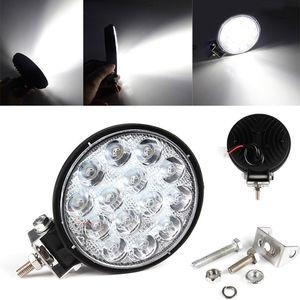 Image 5 - OKEEN 4 zoll 42W Quadratisches LED Licht Scheinwerfer 48W LED Licht Bar Für 4x4 Offroad ATV UTV Lkw Traktor Motorrad Nebel lichter