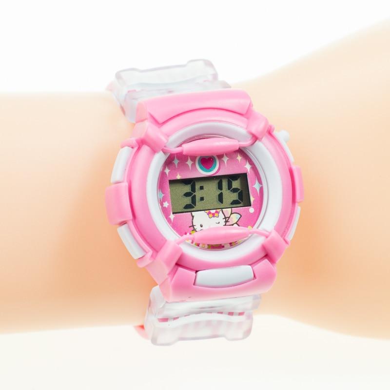 Joyox mode spiderman patroon cartoon kinderen sport horloge rubberen - Kinderhorloges