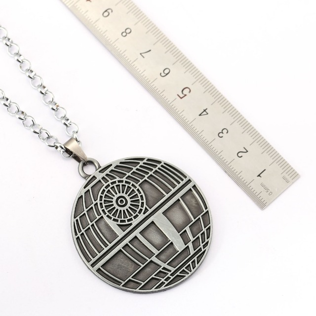 Star Wars Death Star Necklace Men Women Pendant Accessory